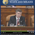 Congressman Erik Paulsen speaks at the Hearing on Tax Reform and Tax Favored...